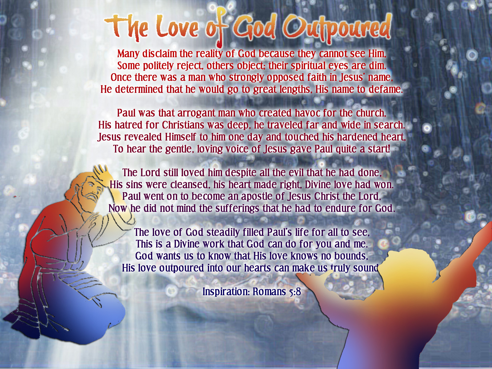 The Love Of God Outpoured